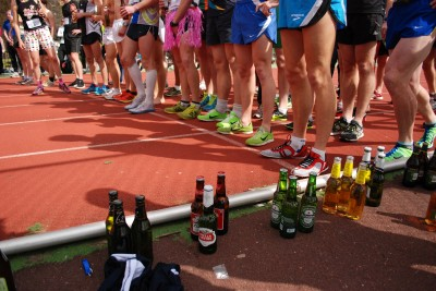 Running record; The Beer Mile